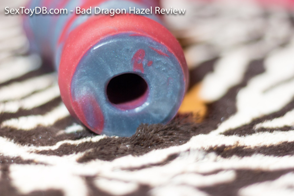 bad dragon hazel review - rear